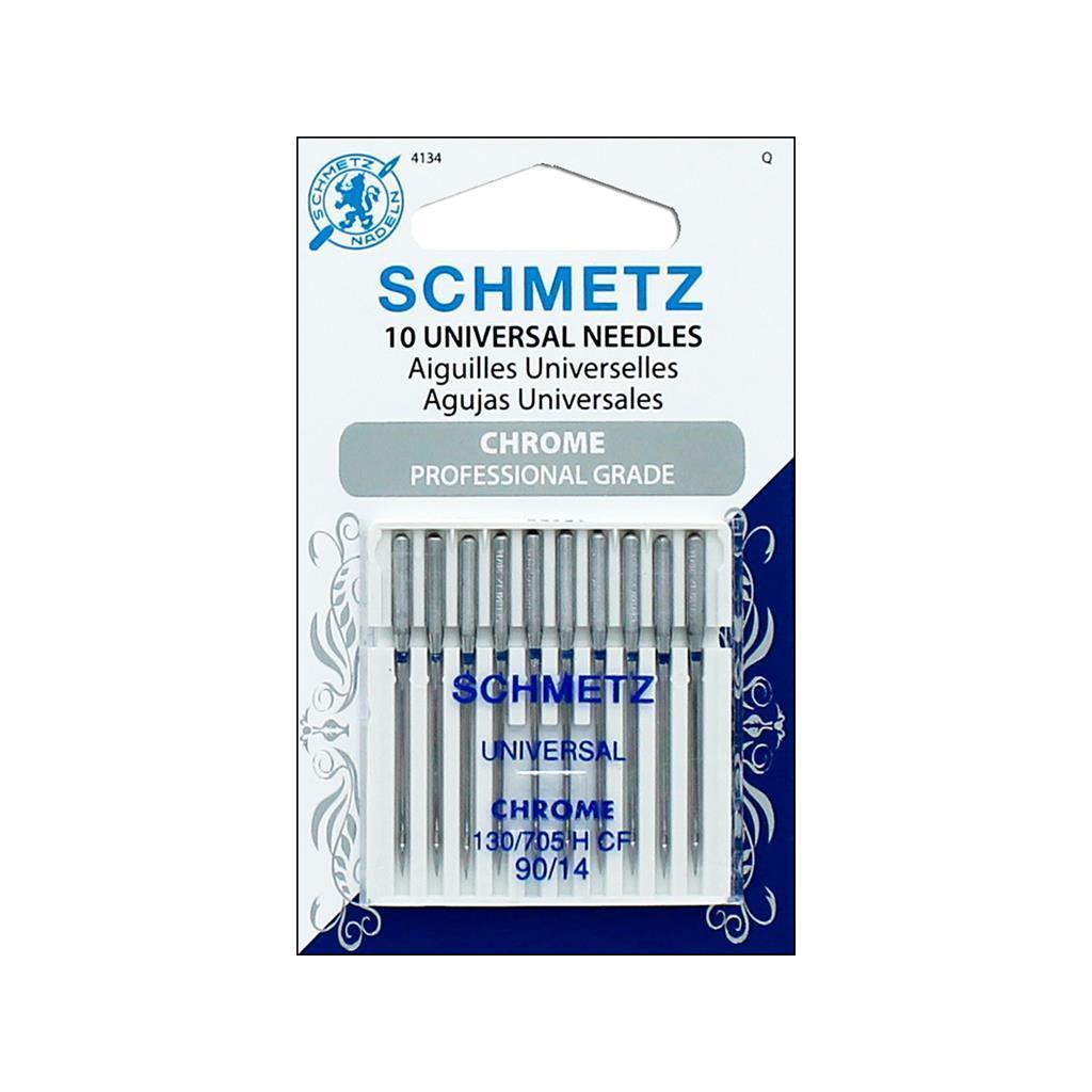 Schmetz Needle Chrome (Grey) Universal Sz 90/14 10pc (Uni...