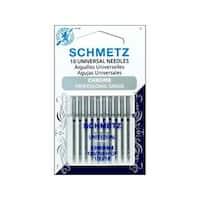 Schmetz Needle Chrome Universal Sz 100/16 10pc