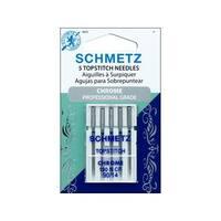 Schmetz Needle Chrome Topstitch Sz 90/14 5pc