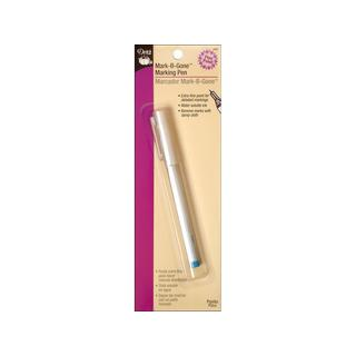 Dritz Fine Point Mark-Be-Gone Pen Blue