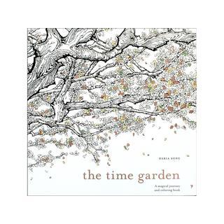 Watson Guptill The Time Garden Coloring Book