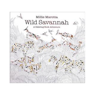 Lark Millie Marotta's Wild Savannah Coloring Book