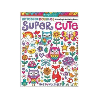 Design Originals Super Cute Coloring & Activity Book