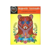 Design Originals Majestic Animals Coloring Book