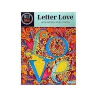 Design Originals Letter Love Coloring Book