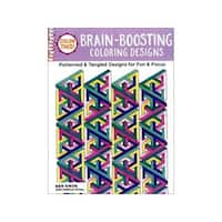 Design Originals Brain Boosting Coloring Book