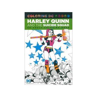 DC Comics Harley Quinn & Suicide Squad Coloring Book