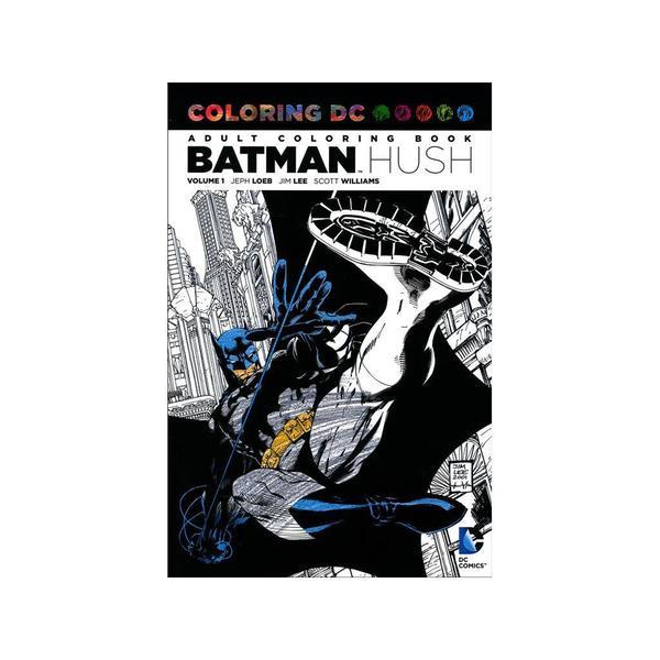 DC Comics Batman Hush Coloring Book