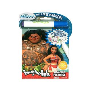 Bendon Magic Ink Pictures Book Disney Moana