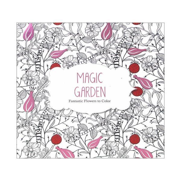 Barron S Magic Garden Coloring Book