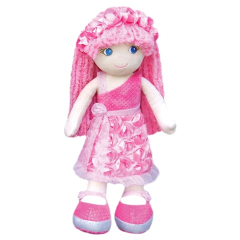 Leila Pink Roses & Sparkles Fashion Doll