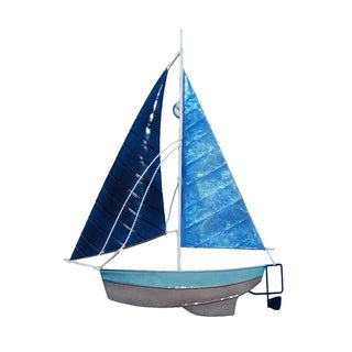Blue Sailboat Wall Decor