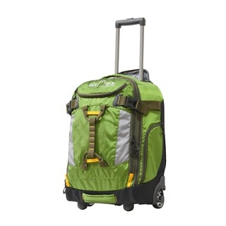 Olympia Cascade 20-inch Outdoor Carry-On Convertible Rolling Suitcase/Backpack