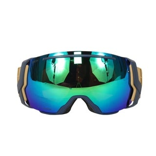 Smith Optics Navy Camo Split ChromaPop Sun I/O 7 Interchangeable Snow Goggles