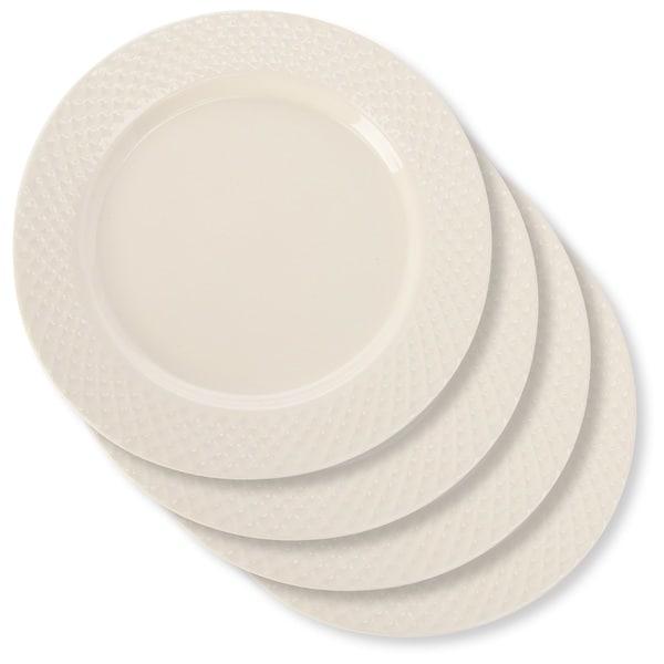 Signature Housewares Sahara Waffle 8-inch Salad Plate - Set of 4  sc 1 st  Overstock & Signature Housewares Sahara Waffle 8-inch Salad Plate - Set of 4 ...