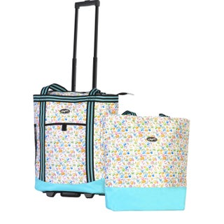 Olympia Cooler Buddy Insulated 2-Piece Shopper Tote