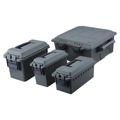 High Desert 4 Pack Ammo Box Dry Storage Utility Box