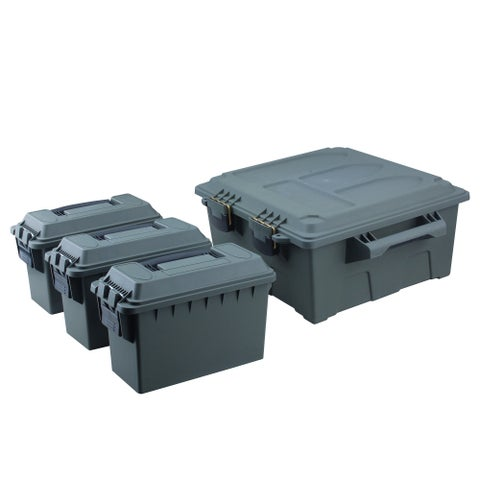 High Desert Large Crate Utility Box with 3pc .30 Cal Boxes