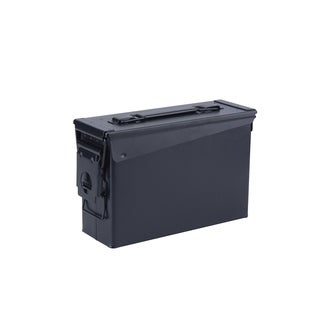 Magnum 30 Cal Metal Ammo Can, Dark Black