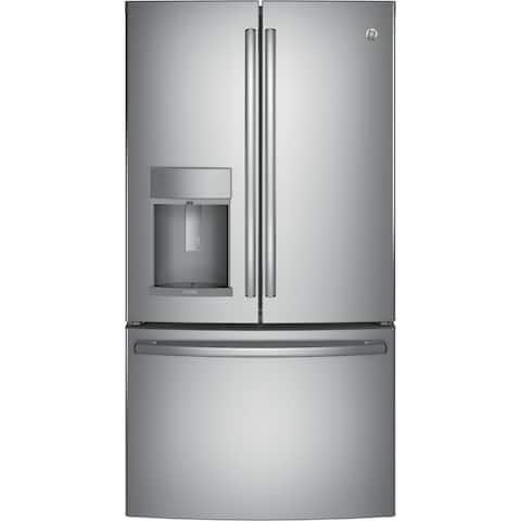 GE Profile Series 27.8 Cu. Ft. French-Door Refrigerator with Door In Door and Hands-Free AutoFill