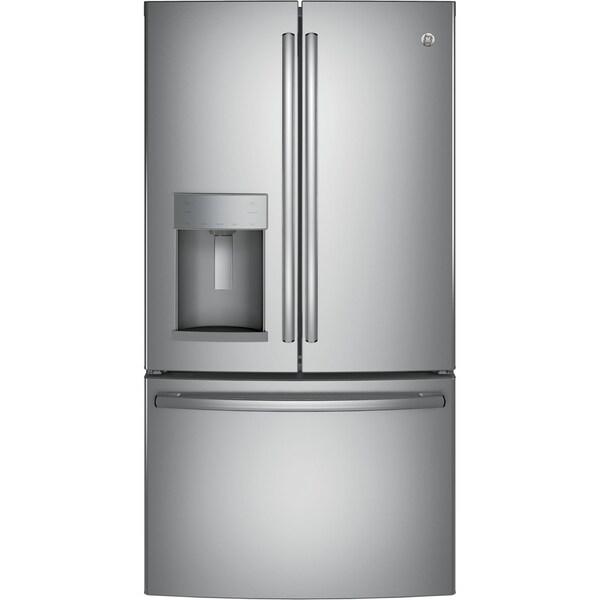 GE 27.8 Cu. Ft. French-Door Refrigerator with Door In Door