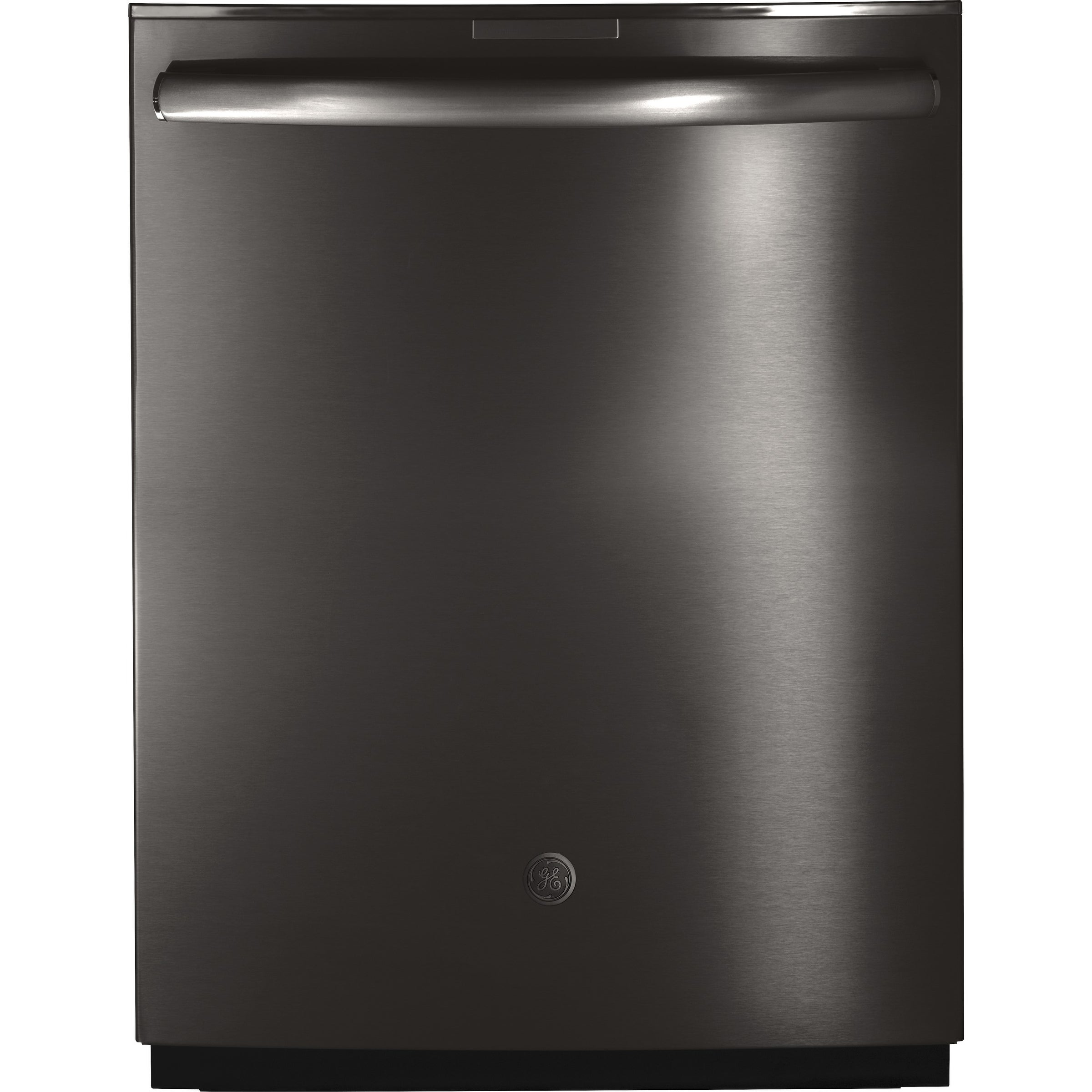 GE Profile Stainless Steel Interior Dishwasher with Hidden Controls Black - Top Control - 24 in.