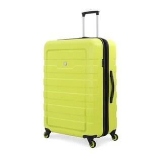SwissGear Yellow 28- inch Lightweight Hardside Spinner Suitcase