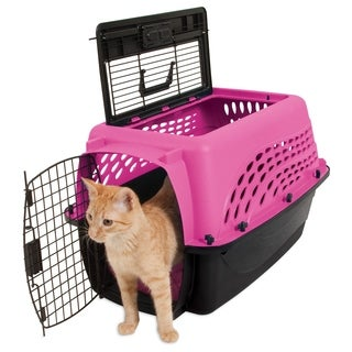 Jackson Galaxy 2-Door Top Load Kennel, 24""