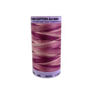 Mettler Silk Fin Cotton #50 500yd Multi Pink Flox