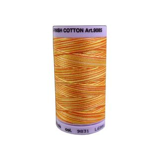 Mettler Silk Fin Cotton #50 500yd Multi Orange Ana