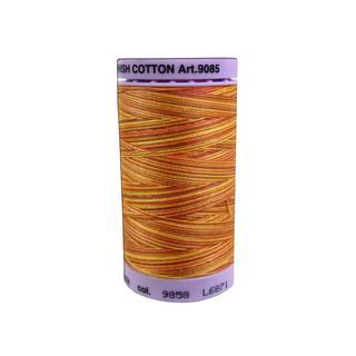 Mettler Silk Fin Cotton #50 500yd Multi Fall Leavs