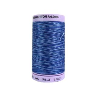 Mettler Silk Fin Cotton #50 500yd Multi Eveng Blue