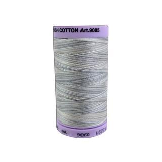 Mettler Silk Fin Cotton #50 500yd Multi Dove Gray