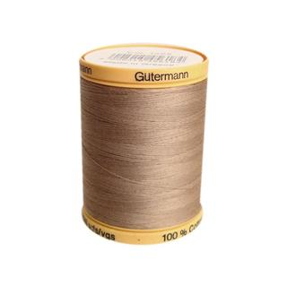 Gutermann 100% Nat Cotton Thread 800M Taupe