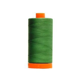 Aurifil Ctn Thread Mako 50wt 1300m Dk Grass Green