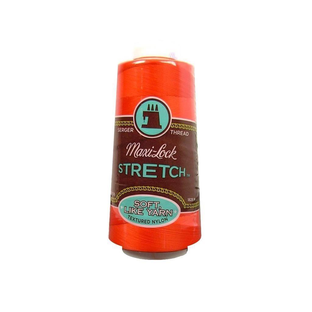 American & Efird Maxi Lock Stretch Thread 2000yd Toboggan...
