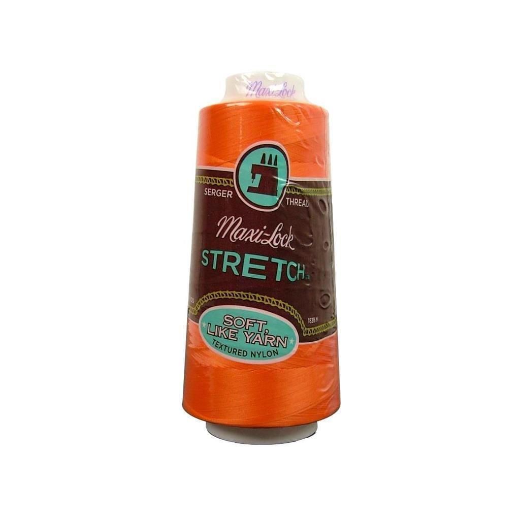 American & Efird Maxi Lock Stretch Thread 2000yd Papaya (...