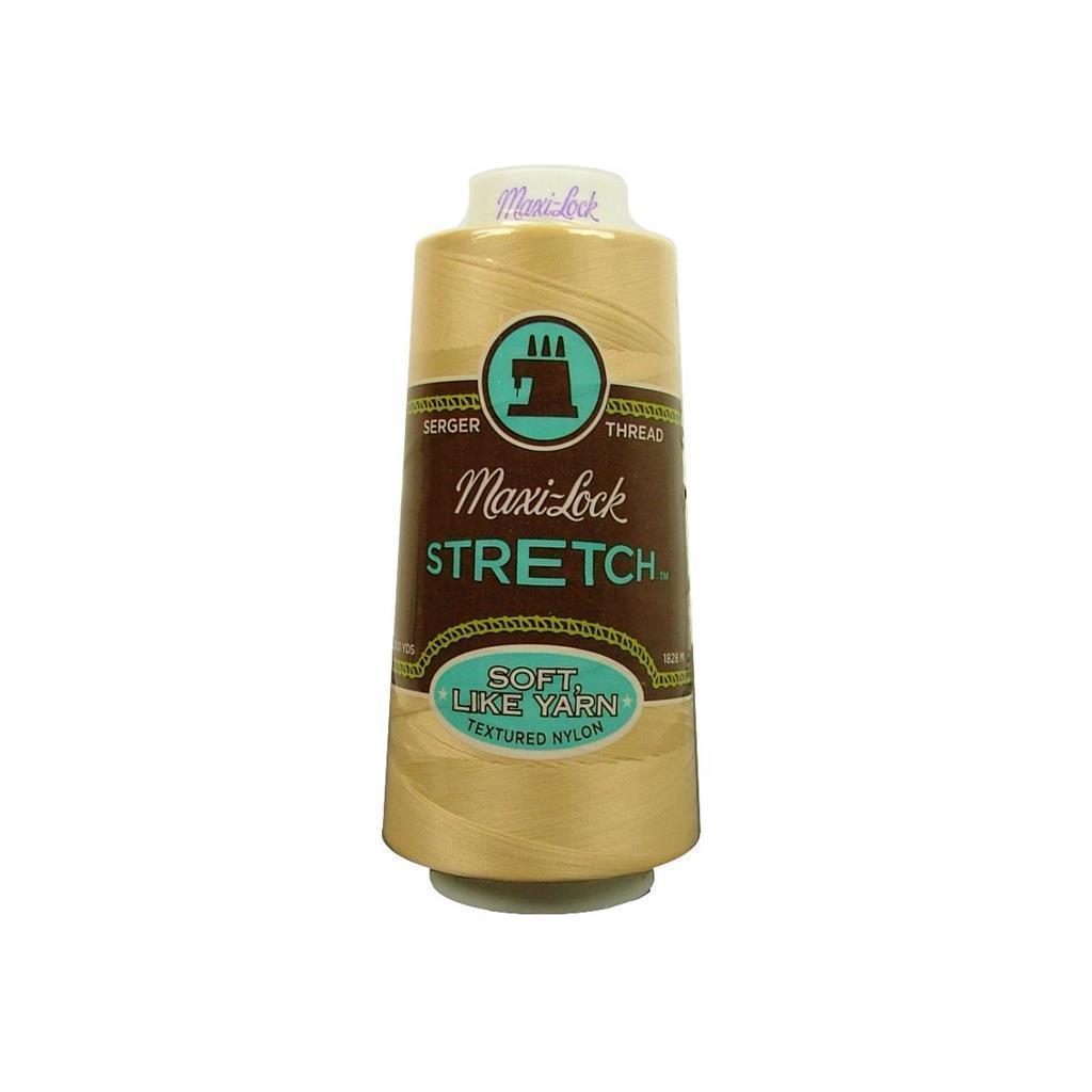 American & Efird Maxi Lock Stretch Thread 2000yd Natural ...