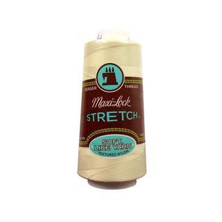 American & Efird Maxi Lock Stretch Thread 2000yd Eggshell