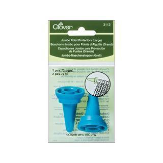 Clover Point Protector Jumbo Needle 17-19 Lg 2pc