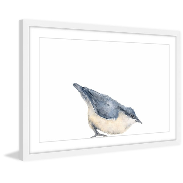 Shop \'Nuthatch Bird II\' Framed Painting Print - On Sale - Free ...