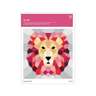 Violet Craft The Lion English Paper Piecing Ptrn