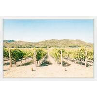 'Vineyard' Framed Painting Print