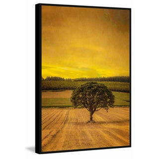 Marmont Hill - Handmade Country Meadows Floater Framed Print on Canvas