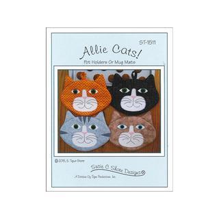 Susie C Shore Allie Cats Pattern
