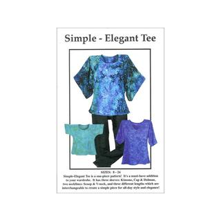 CNT Simple Elegant Tee Pattern