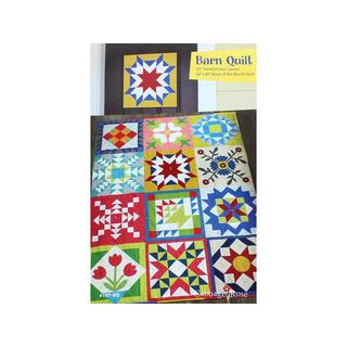 Cabbage Rose Barn Quilt Pattern