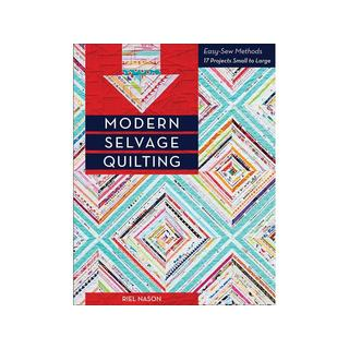 C&T Modern Selvage Quilting Book