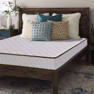 Queen size Mattress Tight Top Innerspring 7 inch - Crown Comfort
