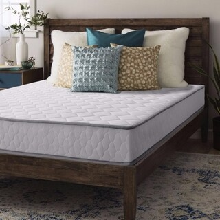 Crown Comfort 8-inch Independent Pocketed Spring Twin-size Mattress